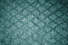 Carpwt ciano de matéria têxtil da cor patttern fotos de stock royalty free