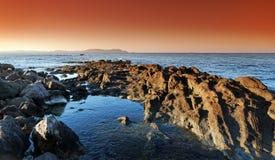 Carqueiranne wybrzeże obrazy royalty free