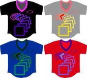 carré et T-shirt Images libres de droits