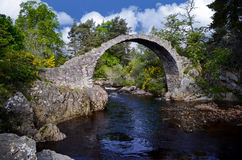 Carr Bridge Scotland Stock Image