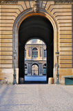 carr cour άνοιγμα εξαερισμού πυ&lambd Στοκ φωτογραφία με δικαίωμα ελεύθερης χρήσης