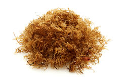Carrageen moss. On a white background Royalty Free Stock Photos