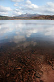 Carragh view 5. A view fom the shore of carragh lake in county kerry in ireland royalty free stock photography