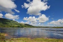 Carrao Fluss, Venezuela stockbild