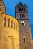 Carrara, cathedral Royalty Free Stock Photo