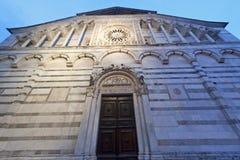 Carrara, cathedral Royalty Free Stock Photos