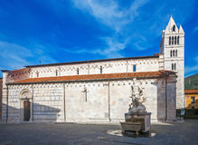 Carrara Cathedral Royalty Free Stock Photos