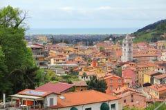 Carrara, Italië stock afbeelding