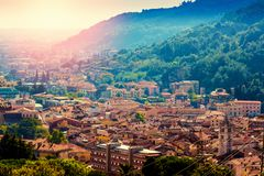 Carrara Italien Arkivfoto
