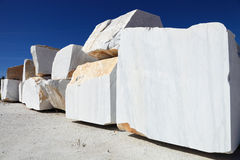 Carrara marble Stock Photography