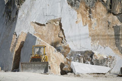 Carrara marble Stock Photo