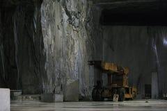 Carrara marble cave Stock Photo