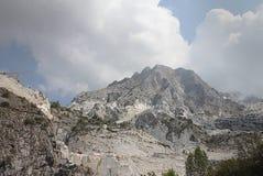 Carrara marble mountains Royalty Free Stock Photography