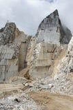 Carrara Marble quarries Stock Photo