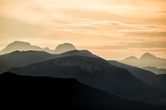 Carrara Mountains Tuscany Royalty Free Stock Photo