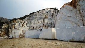 Carrara´s quarry Stock Photo