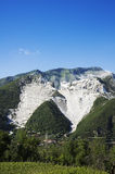 CARRARA - White marble quarries Stock Image