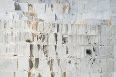 Carraran marble quarry Royalty Free Stock Photos