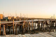 Carrasqueira połowu antyczny port Obraz Royalty Free