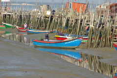 Carrasqueira port Royalty Free Stock Photos