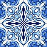 Carreau de céramique d'azulejo portugais illustration de vecteur