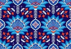 Carreau de céramique sans couture traditionnel de tabouret d'empire d'ère turque, arabe, africaine, islamique du ` s, vecteur de  illustration stock