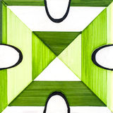 Carreau de céramique vert Photo libre de droits