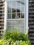 Carreau de fenêtre de Nantucket Image stock