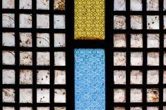 Carreau de fenêtre traditionnel philippin Image stock