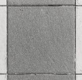 Carreaux de céramique carrés intérieurs ou extérieurs de salle de bains ou de cuisine Images libres de droits