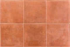 Carreaux de céramique carrés intérieurs ou extérieurs de salle de bains ou de cuisine Photo libre de droits