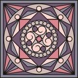 Carreaux de céramique dans de rétros couleurs Modèles de vintage Illustration de vecteur Images libres de droits