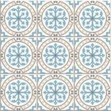 Carreaux de céramique de plancher antique Conception anglaise victorienne de carrelage de plancher, modèle sans couture de vecteu