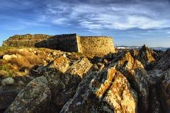 Carreco fortress in Viana do Castelo royalty free stock photography