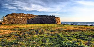 Carreco fortress in Viana do Castelo Stock Photo