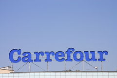 Carrefour Stockbilder