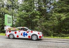Carrefour Auto Royalty-vrije Stock Foto
