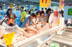 Carrefour in China Stock Photography