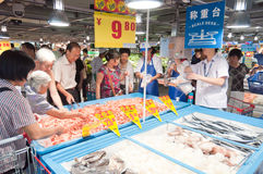 Carrefour in China Royalty Free Stock Photos