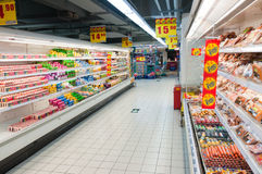 Carrefour in China Stock Photo