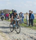 The Cyclist Ian Stannard  - Paris Roubaix 2015 Stock Images