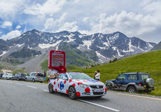 Carrefour-Fahrzeug - Tour de France 2014 Lizenzfreie Stockfotos