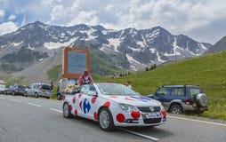 Carrefour-Fahrzeug - Tour de France 2014 Stockfotos