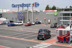 Carrefour Hypermarket fotografia stock