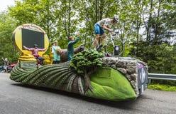 Carrefour pojazd Zdjęcie Royalty Free