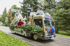 Carrefour pojazd Obraz Royalty Free