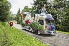 Carrefour pojazd Obrazy Royalty Free
