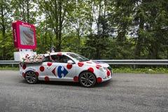 Carrefour pojazd - tour de france 2014 Obrazy Stock