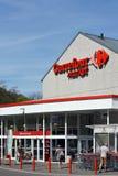 Carrefour rynek fotografia stock
