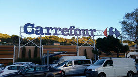 Carrefour Supermarket Stock Photos